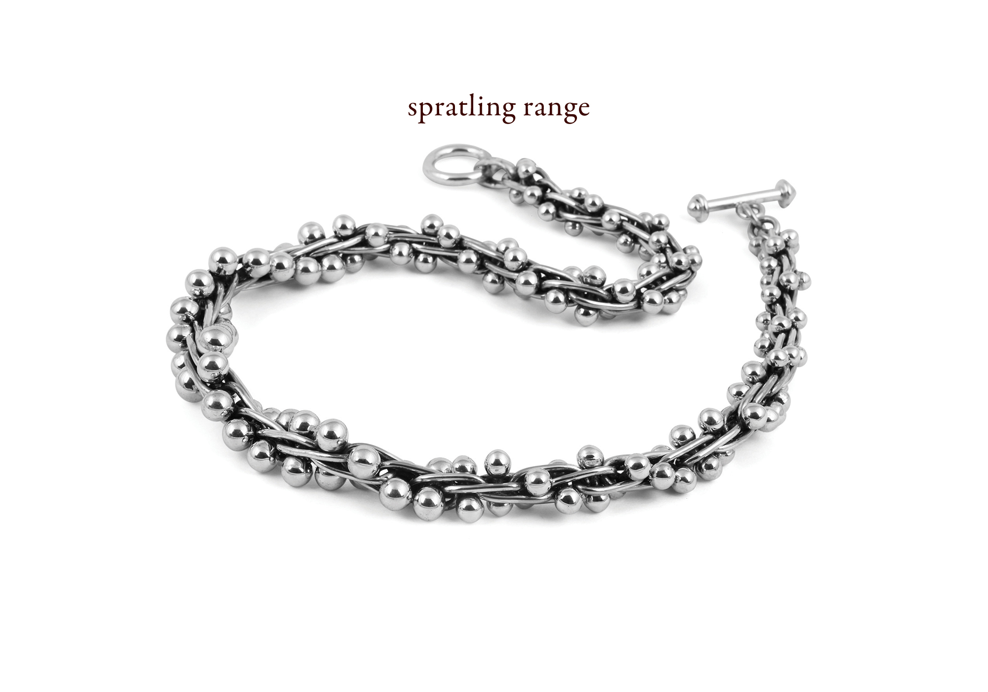 Spratling Range_graduated_knecklace_4mm beads_silver_coleman_coleman_jewellery_Wantage_Oxfordshire